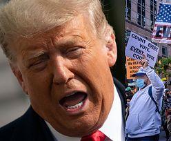 """Wybory w USA. Wzburzony Donald Trump WĘSZY SPISEK podczas liczenia głosów: """"Przewaga zaczęła znikać, BARDZO DZIWNE"""""""