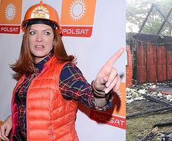 """TYLKO NA PUDELKU: Katarzyna Dowbor chce wyremontować spalony dom pani Beaty! """"Namawia sponsorów"""""""