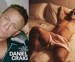 """52-letni Daniel Craig zachwyca muskulaturą w magazynie """"GQ"""" (ZDJĘCIA)"""