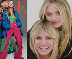 """16-letnia córka Heidi Klum debiutuje z matką na okładce niemieckiego """"Vogue'a""""!"""