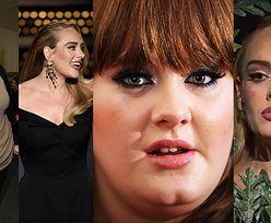 """""""Spektakularna metamorfoza"""" Adele to NIE TYLKO utrata wagi! """"Nos ma zrobiony perfekcyjnie"""" (DUŻO ZDJĘĆ)"""