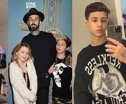 Kourtney Kardashian zostanie niebawem MACOCHĄ. Poznajcie pociechy Travisa Barkera, 18-letniego Landona i 15-letnią Alabamę (ZDJĘCIA)