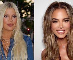 """Tori Spelling fascynuje internautów nową twarzą: """"Wygląda jak KLON Khloe Kardashian"""""""