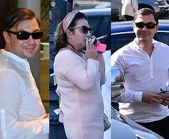 Uśmiechnięty Daniel Martyniuk w białej koszuli maszeruje na rozprawę rozwodową (ZDJĘCIA)