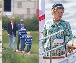 """Serialowi królowa Elżbieta, Diana, William i Harry na planie piątego sezonu """"The Crown"""" (ZDJĘCIA)"""