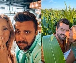 """Zakochana Barbara Kurdej-Szatan migdali się z mężem w polu kukurydzy. Internauci grzmią: """"Niszczycie rolnikowi PLONY"""" (FOTO)"""