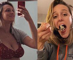 """Bohaterska Aleksandra Żebrowska pokazuje sylwetkę 3 tygodnie po ciąży: """"Nie straciłam ciała, przeciwnie - sporo go ZYSKAŁAM"""" (FOTO)"""