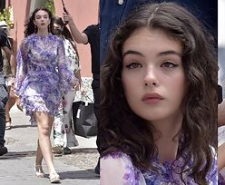 16-letnia córka Moniki Bellucci i Vincenta Cassela pracuje na planie w Portofino (ZDJĘCIA)