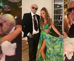 Rinke Rooyens przebrał się dla Przetakiewicz za... Karla Lagerfelda! Pamiętał, że osiem lat temu poleciała na urodziny JEGO KOTA?