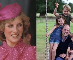 """Książę William i Kate pokazali laurki swoich pociech DLA DIANY z okazji Dnia Matki: """"TATO TĘSKNI ZA TOBĄ"""""""