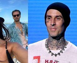 """Kourtney Kardashian w skąpym bikini obściskuje się z Travisem Barkerem na pustyni. Fani radzą: """"Niech ktoś sprawdzi, CO U SCOTTA"""""""