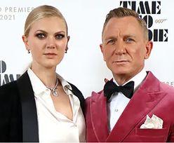"""Daniel Craig Z CÓRKĄ na premierze """"Nie czas umierać"""". Kim jest Ella Loudon? (ZDJĘCIA)"""