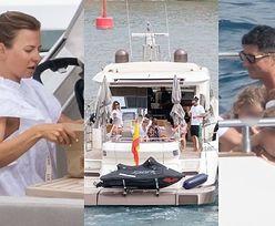 Anna i Robert Lewandowscy przemierzają hiszpańskie wody na pokładzie luksusowego jachtu (ZDJĘCIA)