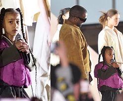 6-letnia North West wystąpiła na paryskim pokazie mody Kanye Westa. Zostanie raperką? (WIDEO)