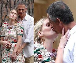 Świeżo poślubieni Kitty Spencer i starszy od niej o 32 lata multimilioner oddają się czułościom na wspólnej sesji (ZDJĘCIA)