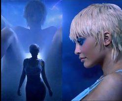 Światło dziennie ujrzał demoniczny teledysk Kanye Westa, w którym Kim Kardashian RODZI Kylie. Przerażające? (WIDEO)