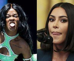 """Azealia Banks MIAŻDŻY Kim Kardashian za mieszanie się w konflikt Taylor i Kanye: """"Oni przynajmniej przysłużyli się światu, Ty nie osiągnęłaś NIC"""""""