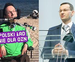 """Wojtek Sawicki komentuje pominięcie osób niepełnosprawnych w """"Polskim Ładzie"""": """"Poczułem się wykluczony, pozostawiony SAM SOBIE"""""""