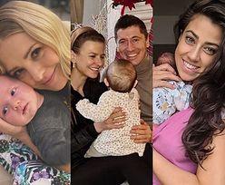 Baby boom w dobie koronawirusa. One zostały mamami lub zaszły w ciążę w 2020 roku (ZDJĘCIA)