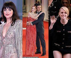 Zatrzęsienie gwiazd na festiwalu w Wenecji: Zendaya, Kristen Stewart, Dakota Johnson, Jessica Chastain... (ZDJĘCIA)