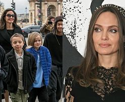 """Angelina Jolie prawi o macierzyństwie na łamach brytyjskiego """"Vogue'a"""": """"NIE JESTEM W TYM DOBRA"""""""