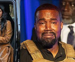"""Zalany łzami Kanye West ogłasza, że POWSTRZYMAŁ Kim przed aborcją: """"Miała tabletki w ręku, ale dostałem WIADOMOŚĆ OD BOGA"""""""