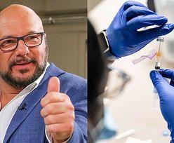 """Piotr Gąsowski twierdzi, że aktorzy powinni mieć PIERWSZEŃSTWO w szczepieniach na COVID: """"JESTEŚMY NARAŻENI"""""""