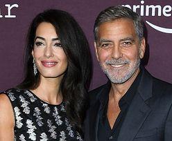 Dawno niewidziani George i Amal Clooneyowie pozdrawiają uśmiechami na premierze w Los Angeles (ZDJĘCIA)
