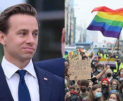 Wspaniałomyślny i łaskawy Krzysztof Bosak mówi, co zrobi, gdy jego DZIECKO będzie HOMOSEKSUALNE