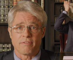 """""""Siwy"""" Brad Pitt jako doktor Anthony Fauci NABIJA SIĘ z Donalda Trumpa (WIDEO)"""