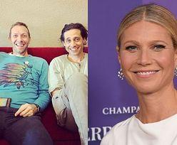 Gwyneth Paltrow świętuje Dzień Ojca zdjęciami byłego i obecnego partnera (ZDJĘCIA)