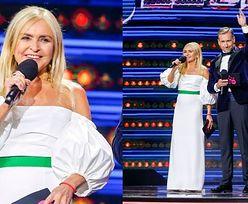 """Top of the Top Sopot Festival 2021. Monika Olejnik pozdrawia publiczność: """"WITAM W WOLNYCH MEDIACH"""" (ZDJĘCIA)"""
