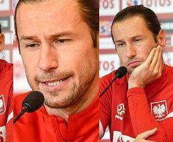 """Euro 2020. Smutny Grzegorz Krychowiak kaja się na konferencji prasowej: """"Nie chcę wychodzić na KLAUNA"""""""