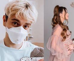 """Jan Dąbrowski pokazuje córkę i opisuje stresujący poród w pandemii: """"Szpitale przepełnione, strach przed testami"""""""