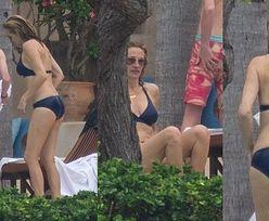 52-letnia Julia Roberts w bikini wyleguje się z rodziną na meksykańskiej plaży. Piękna? (ZDJĘCIA)