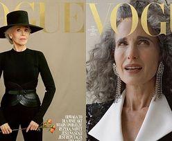 """Jane Fonda i Andie MacDowell pozują na październikowych okładkach """"Vogue Polska""""! (ZDJĘCIA)"""