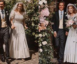 """Wzruszona księżniczka Beatrice dziękuje za życzenia, publikując kolejne zdjęcia ze ślubu: """"Jesteśmy wdzięczni i wzruszeni"""""""