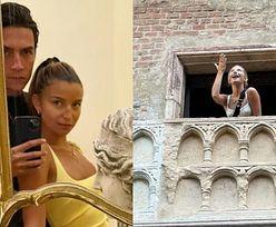 Julia Wieniawa uwodzi z balkonu niczym Julia Szekspira. Nikodem to jej Romeo? (ZDJĘCIA)