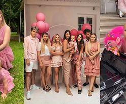 """""""Hojna"""" Andziaks zorganizowała różowe przyjęcie z okazji pierwszych urodzin Charlotte: """"NOWE POKOLENIE już nam rośnie"""" (ZDJĘCIA)"""