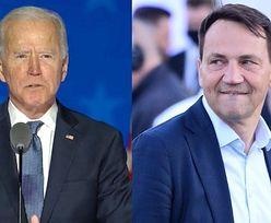 Wybory w USA. Joe Biden o krok od zwycięstwa w Pensylwanii. Radosław Sikorski już gratuluje mu wygranej...