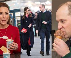 Kate i William zajadają się lodami podczas wizyty w południowej Walii (ZDJĘCIA)