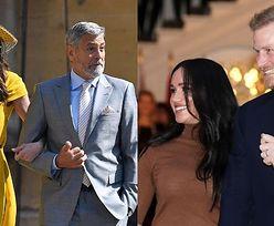 "George i Amal Clooney NIE ZNALI Harry'ego i Meghan przed ""royal wedding""?"