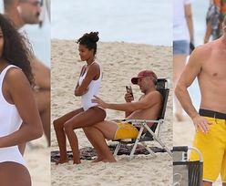 Rozmarzony Vincent Cassel fotografuje pośladki młodszej o 31 lat żony na plaży w Brazylii (ZDJĘCIA)