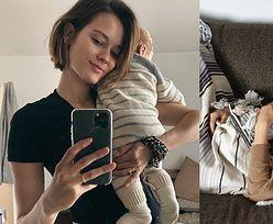 """Monika Jagaciak szczerze o trudach macierzyństwa: """"Miałam gorsze chwile. PŁAKAŁAM Z WYCIEŃCZENIA"""""""