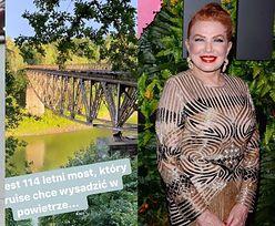 Ruch Autonomii Śląska apeluje do Georgette Mosbacher, aby URATOWAŁA most w Plichowicach przed Tomem Cruisem!