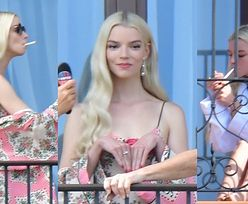 Anya Taylor-Joy PUSZCZA DYMKA przed wyjściem na czerwony dywan w Wenecji (ZDJĘCIA)