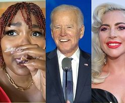 Gwiazdy celebrują zwycięstwo Joe Bidena w wyborach prezydenckich: Łzy Lopez, Grande na ulicznej paradzie, Lawrence biega w piżamie... (ZDJĘCIA)