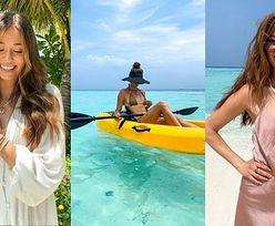 """Izabella Krzan relacjonuje rajskie wakacje na Malediwach: opalanie """"na raka"""", wycieczka kajakiem z partnerem i porcja ciekawostek... (ZDJĘCIA)"""