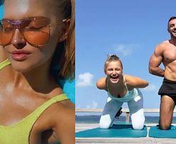 Karolina Pisarek wyleciała z nowym chłopakiem na Malediwy. Póki co... ćwiczą na siłowni