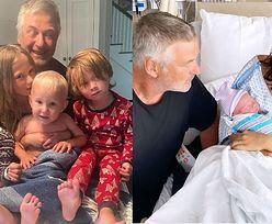 62-letni Alec Baldwin po raz SZÓSTY został ojcem! (FOTO)